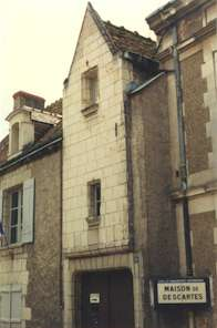 Casa natal de Descartes, hoy museo