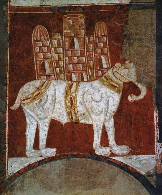 Elephant_and_Castle_(Fresco_in_San_Baudelio,_Spain)
