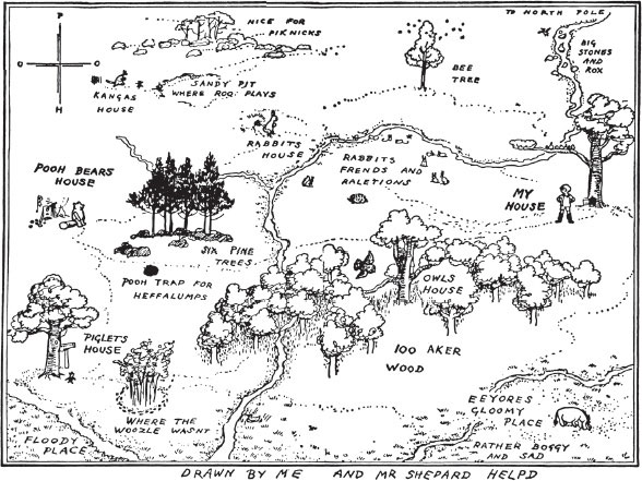 map-of-the-hundred-acre-wood