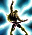 The_Viking_God_of_Rock_by.red