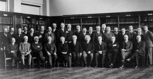 Blas-Cabrera-en-la-Conferencia-de-Solvay-1930
