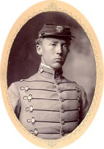 Patton_at_VMI_1907