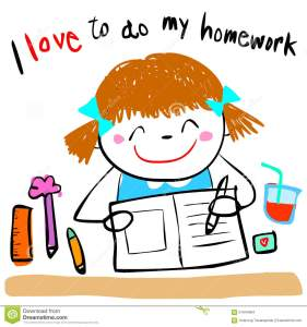 happy-kid-love-to-do-homework-illustration-cute-girl-her-doodle-cartoon-style-57944384
