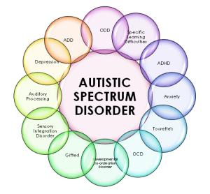 Resultado de imagen de autismo y trastornos psiquiatricos